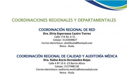 Directorio: Coordinadores U.T. Tolihuila