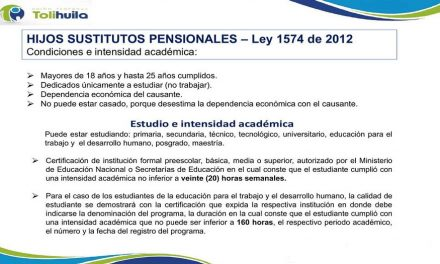 SUSTITUTOS PENSIONALES