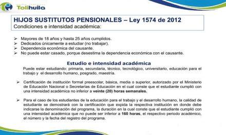 SUSTITUTOS PENSIONALES
