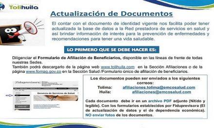 Actualización de Documento