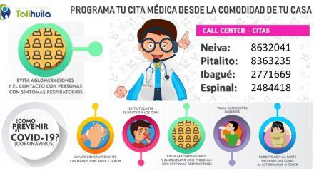 Call center – Citas Médicas