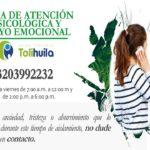 Linea atención Psicologica y apoyoemocional