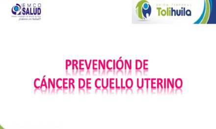 Prevención Cáncer de Cuello Uterino