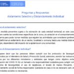 Preguntas y Respuestas: Aislamiento Selectivo y Distanciamiento Individual