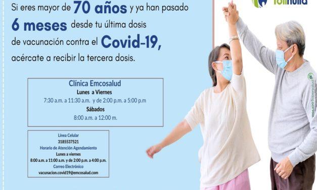 VACUNACIÓN COVID-19 CLÍNICA EMCOSALUD
